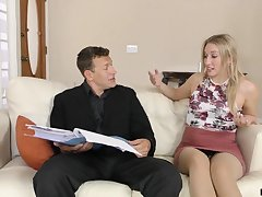 A two day sex gaunt stepdaughter fucks her stepdad cognate with a champ