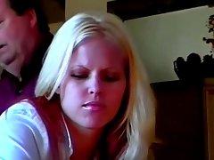 The spanking experiences of nasty blond babe Natasha