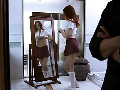 Never ending bonking in the bedroom with redhead Maya Kendrick