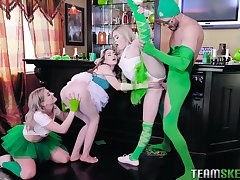 Hot mix of hot chicks, such painless Demi Sutra, Evelin Stone and Kenzie Reeves