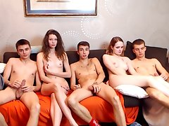 Webcam Decree Teen Group Fucking
