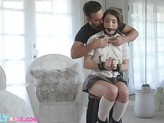 50 shades of kink with a sexy feel nostalgia for Megan Minx and that teen loves dick