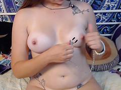 Yummy Teen Model Dildo Webcam Fuck