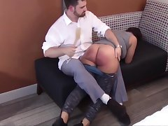 Spanking the Disobedience Get a kick from Mackenzie Reed