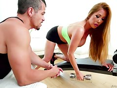Asian bombshell Kianna Dior gets facial do research hardcore threesome dealings
