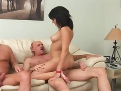 Plump black head upon off colour rack Riley Mason is made to ride fat bushwa