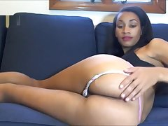 Princess Zage farts in her white panties