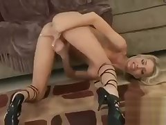 Exotic lovemaking scene Tow-haired watch pretty one