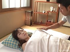 Asian Kawakami Yuu is pocket watch hard sex with her join up in many poses